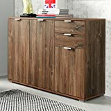 Kommode Sideboard Highboard Anrichte Standschrank P82 Typ 130 stirling eiche