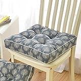 gaojiangang A Komfort-sitzkissen Verdicken, Esszimmerstuhl Sessel Gartenstuhl Riser Kissen, Atmungsaktive Sitzerhöhung-D 40x40cm(16x16inch)