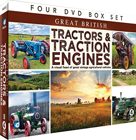 Great British Tractors & Traction Engines [DVD] [Import anglais]