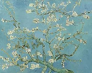 """Vincent van Gogh, fiori di mandorlo, stile Vintage, con stampa artistica di qualità, laccato carta/carta, Up to 297mm by 420mm or 11.7"""" by 16.5"""""""