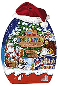 kinder berraschung und friends adventskalender 1er pack 1 x 431 g lebensmittel. Black Bedroom Furniture Sets. Home Design Ideas