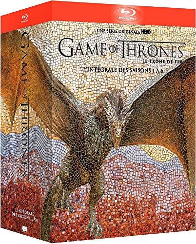 Game of Thrones (le Trône de Fer) - l'Intégrale des Saisons 1 à 6 - Coffret Blu-Ray - HBO