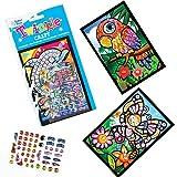 Kits d'Objets de Loisirs Créatifs Scintillants. Parfaits pour ajouter aux Pochettes d'Anniversaire des Enfants (Lot de 4)...