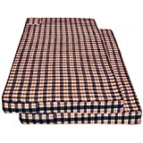 Shri Anand Creations Cotton 100 TC Mattress Cover (Standard_Multicolour)