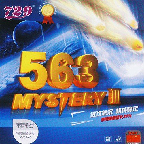 Friendship 563-Mystery III - Schütt Tischtennis, rot, 1.8
