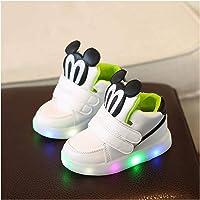 Youpin Scarpe Casual Bambini Con Luce LED Ragazzi Ragazze Sneakers 2020 Primavera Cartoon Mouse Illuminato Sport Scarpe…