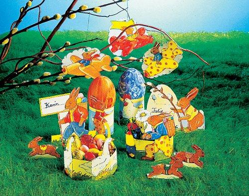 Fröhliche Osterbastelei