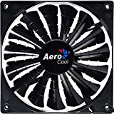 Aerocool Shark 12 cm 15 Blade Fluid Dynamic Bearing Fan - Black