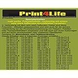 Premium Photo Paper 100 feuilles de 13x18 cm 230g/qm imperméable à l'eau glacé Highglossy
