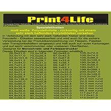 500 hojas de tamaño A4 Overheadfolie claros (transparencias papel transparente) para inyección de tinta, inyección de tinta, la impresora de inyección de tinta
