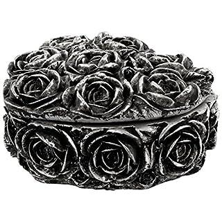 Shades Of Alchemy Rose Heart Trinket Box