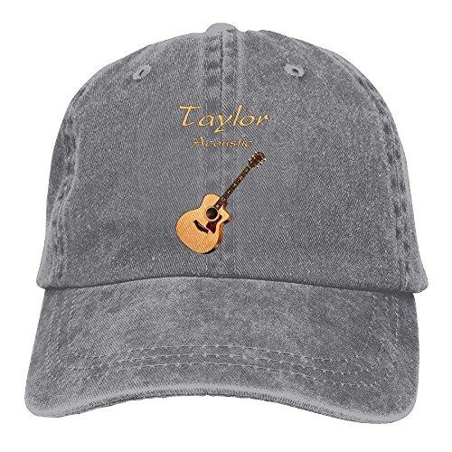 Preisvergleich Produktbild jinhua19 Hüte, Kappen Mützen Taylor Acoustic Guitars Denim Hat Adjustable Women Stretch Baseball Cap