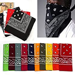 Neverland Beauty Bandana Head Neck Scarf Kerchief with 100% Cotton from Neverland Beauty
