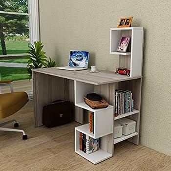 nova scrivania - scrivania per computer: amazon.it: elettronica - Scrivania Con Computer