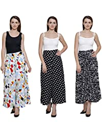 Vogue Nation Combo Of 3 White/ Multicolour Geometric Pattern, Modern Vector Triangle Design , Black & White Polka...