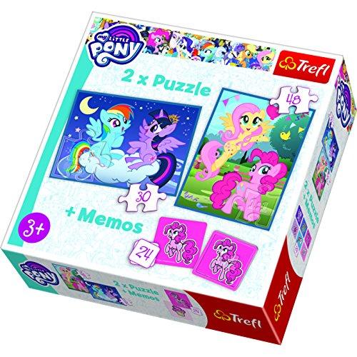 Preisvergleich Produktbild Puzzle Przyjazn to magia 2w1+memos