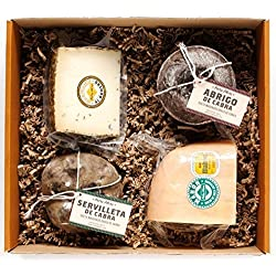 Petra Mora - Cesta de regalo gourmet: Cata de quesos artesanos