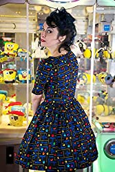 1950s Style Retro Gamer with Sleeve Dress - Silly Old Sea Dog