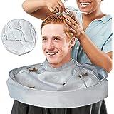 Kapperscape, kapperscape, met waterdichte nylon doek voor heren en dames, volwassenen, kapperscape, kapper, cape, kapper voor