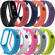 Cytech Correa para Xiaomi Mi Band 4 / Mi Band 3 Pulsera, Coloridos Reloj Silicona Reemplazar Banda Pulsera para Xiaomi Mi Band 3/4