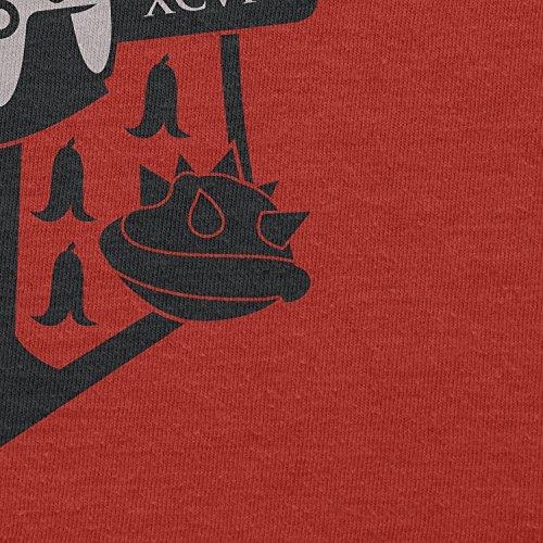 Texlab–Big Gaming Logo–sacchetto di stoffa Rot