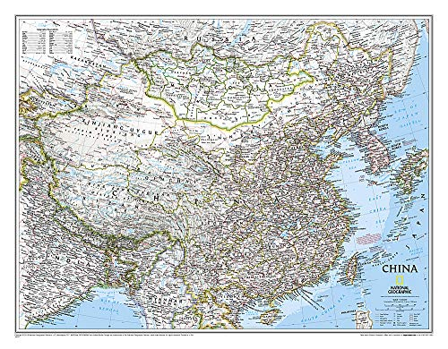 China Classic, Tubed: NG.P620057 (National Geographic Reference Map)