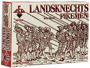 Redbox Mercenario (piqueros), del Siglo 16 (1:72)
