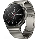 S-COLOR Huawei GT2 PRO watch stainless steel band, 22 mm strap (Grey)