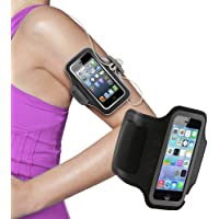 """ElectroBee Neoprene Armband for 5.7"""" Devices (Black)"""