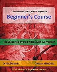 Learn Acoustic Guitar, Classic Fingerstyle: Beginner's Course