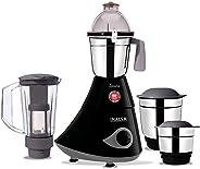 Inalsa Inara Mixer Grinder-780W with 4 Jars, (3 Stainless Steel Jars & 1 Blender Jar with Fruit Filter),(Black,Grey)