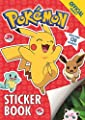 The Official Pokémon Sticker Book: With over 130 Stickers de Orchard Books