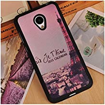 Prevoa ® 丨 Meizu M2 Mini Funda - Colorful Silicona Protictive Carcasa Funda Case para Meizu M2 Mini 5,0 Pantalla Smartphone - 13