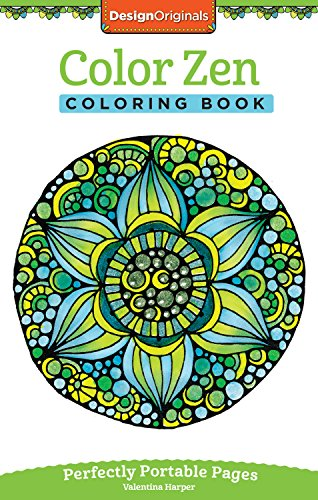 Color Zen Coloring Book: Perfectly Portable Pages (On-the-Go Coloring Book)