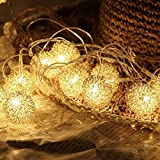 #8: Citra LED Warm White decoration lights - Metal Balls golden - Festival / Wedding / Gifting / Xmax / New Year - The perfect Gifting in 'Gift' Box!