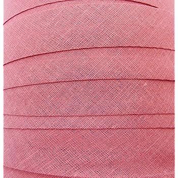 Blende Rosa 10 mm Schr/ägband 10 Meter Textilband Baumwolle