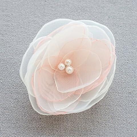 Joyas, flor de Corea del tocado de la novia Mori horquilla Mar Alquiler de vacaciones Cabeza de flor ( Estilo : B