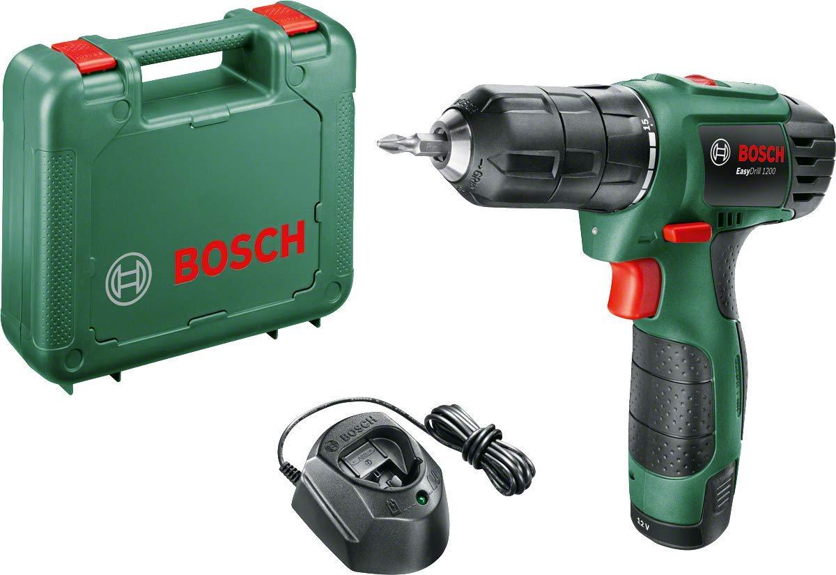 Bosch Akkuschrauber EasyDrill 1200 (1 Akku, 12 Volt System, im Koffer)