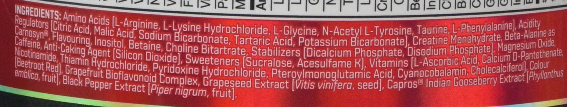 BSN Nutrition N.O.-Xplode Pre Workout Powder with Creatine Monohydrate, Beta Alanine, Caffeine, Vitamin D and Vitamin B…
