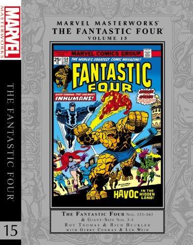Marvel Masterworks: The Fantastic Four Volume 15 (Marvel Masterworks Fantastic Four (Quality)) by Roy Thomas (10-Sep-2013) Hardcover