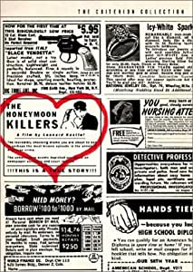 The Honeymoon Killers - Criterion Collection [DVD] [1970] [Region 1] [US Import] [NTSC]