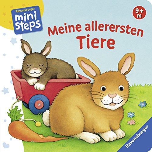 Preisvergleich Produktbild Meine allerersten Tiere: Ab 6 Monaten (ministeps Bücher)