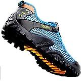 Sandalias Zapatos Descalzos para Hombres Verano Playa Ocio Upstream Lace Up Wading Secado rápido Antideslizante Zapatos de Se
