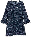 TOM TAILOR Kids Mädchen Kleid Dresses, Blau Blue 3043, 128 (Herstellergröße: 128/134)