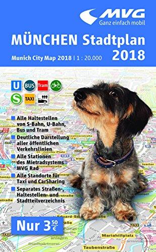 MVG München Stadtplan 2018