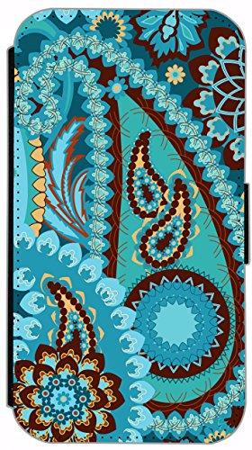 Kuna Flip Cover für Apple iPhone 5 / 5s Design K407 London Big Ben Bus Doppeldecker England Hülle aus Kunst-Leder Handy Tasche Etui mit Kreditkartenfächern Schutzhülle Case Wallet Buchflip Rückseite S K411
