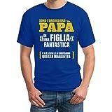 Sono L'orgoglioso papà di Una Figlia Fantastica - Regalo T-Shirt Maglietta Uomo