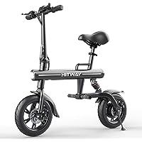 HITWAY Elektrofahrrad Faltbares E-Bike URBANBIKER aus Luftfahrtaluminium Faltbar, 7,5 Ah, 250 W Motor, Reichweite bis 45…