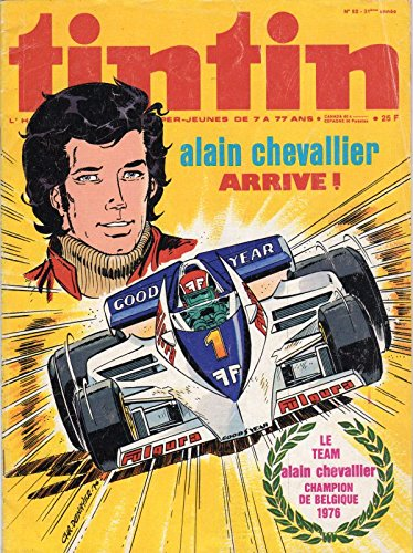 Tintin n° 52 - 21/12/1976 - Alain Chevallier arrive !