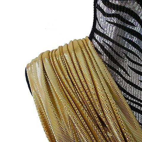 Freestyle Costumes - Premium Gold hologramme sur Doré mat 4directions